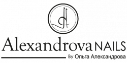 logotipo del salón de belleza Alexandrova Nails en Granada cerca de ti